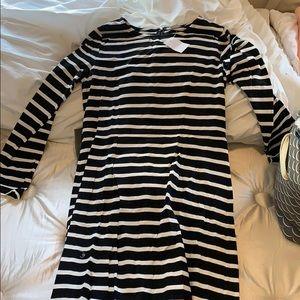 Long sleeve, maxi dress from JCrew